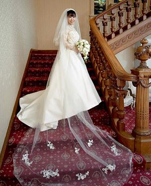 お母さまのドレスをリメイクした世界に一つだけの唯一無二の運命のドレス
