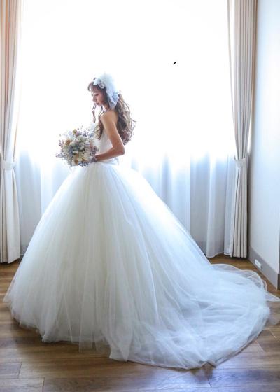 花嫁様の中で大変人気のドレス「VERA WANG」のリサイズ