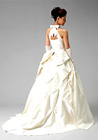 プリンセスラインウエディングドレス