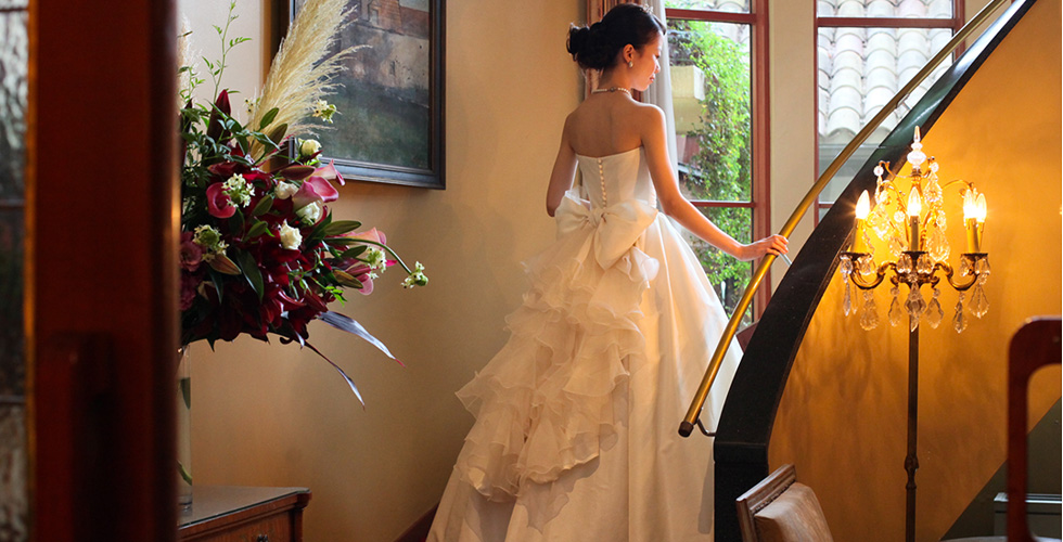 エシカルウエディングドレス