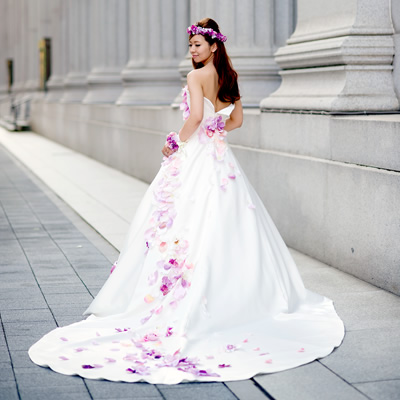 オーダーウェデイングドレス